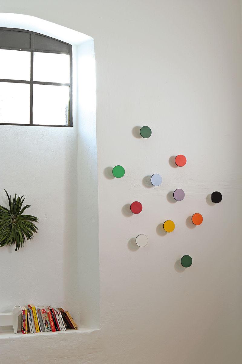 Creativando appendiabiti singolo da muro tinta unita - Attaccapanni a muro design ...